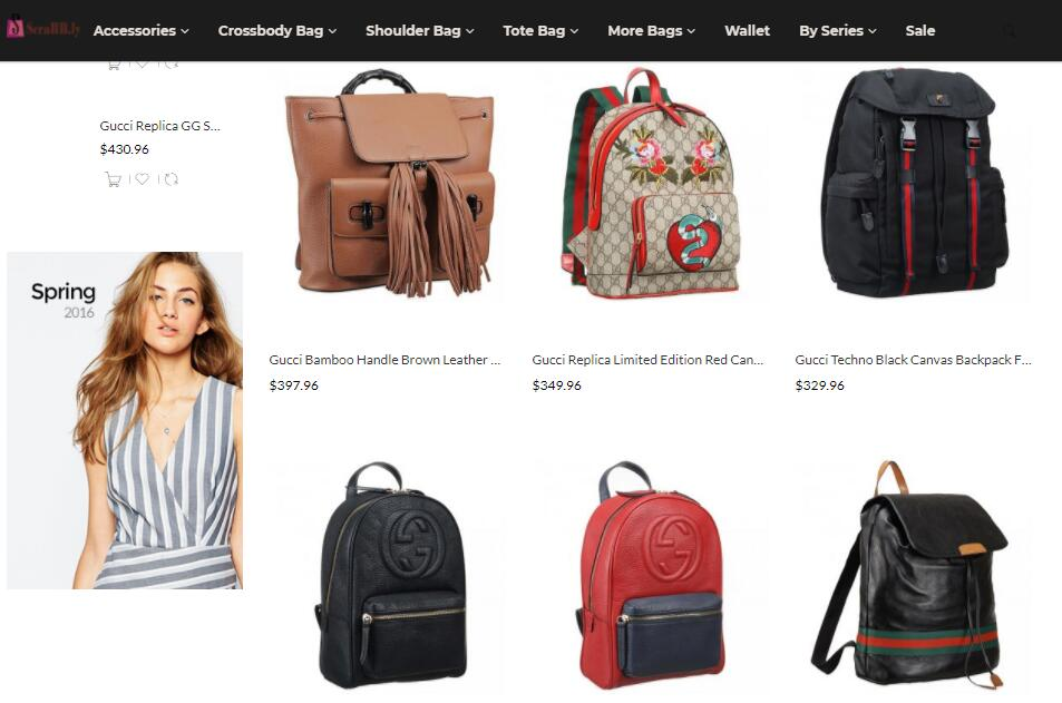 quality replica Gucci backpacks sale