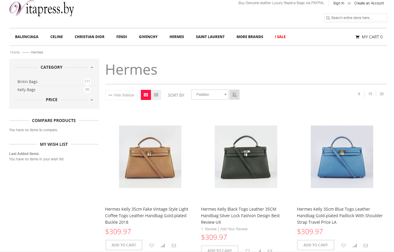 Hermes clone bag price list